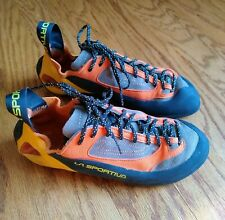 La Sportiva Finale Climbing Shoes - Wm 9.5 - Mn 8.5 - Eur 41.5 - Orange/Yellow
