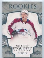 17/18 UPPER DECK EXQUISITE ROOKIE RC #R-22 ALEX KERFOOT 186/275 AVALANCHE *51391