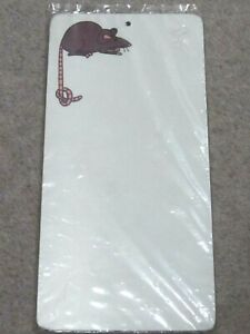 Adsum Mouse Laminated Wipe Off Melamime Reminder Board still in wrapper