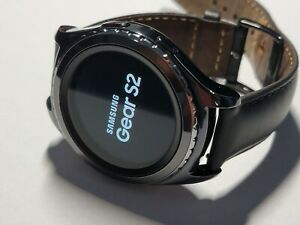 Samsung Gear S2 SM-R735A  AT&T Stainless Steel Black Smartwatch