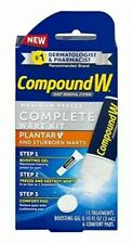Compound W Complete Wart Kit Maximum Freeze Off Remover Plantar Removal 15 Apps