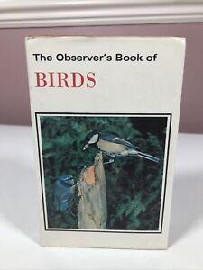 THE OBSERVER'S BOOK OF BIRDS - 1971 HARDBACK
