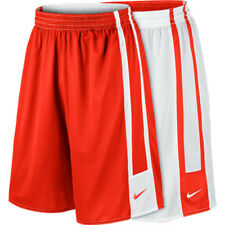 NEW Nike Men's League Dri-Fit Reversible Basketball Shorts Red White Size Large