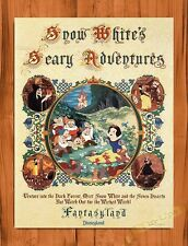 TIN SIGN Disney Snow White's Scary Adventure Attraction Ride Art Movie Poster