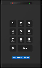 Secure Data Secure Drive KP Encrypted On-Board Keypad External Portable 1TB SSD