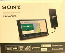"Sony XAV-AX5000 7"" Car Stereo Receiver Apple CarPlay Android Bluetooth Brand New"