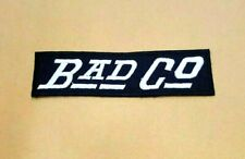 BAD CO COMPANY FUNNY BIKER SPORTS ROCK BADGE Embroidered Iron Sew On Patch Logo