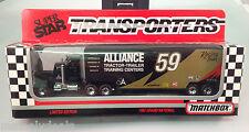 1992 MB Super Star Transporters - Alliance Racing #59 Rob Pressely! NIB!