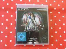 ALICE Madness Returns Playstation 3 ps3 en neuf dans sa boîte avec mode d'emploi