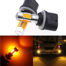 2pcs 11W 880 LED Fog Light Bulbs Amber Yellow Lamps PG13 Advanced 893 899 3000K