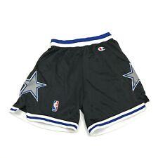 VINTAGE Champion Orlando Magic Shorts Size Small S 28-30 Waist Black USA MADE