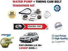 für Fiat Croma 194 1.8 140BHP 2005> Wasserpumpe + ZAHNRIEMEN SPANNROLLE SATZ