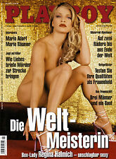 Playboy 05/2003 Mai 2003 Regina Halmich