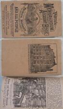 1922~Dr Pierce's Memorandum & Account Book