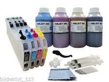 Refillable CISS cartridge for Brother LC103 LC101 MFC-J470DW J475DW+ 4x250ml ink