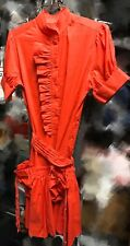 Marc Jacobs Cotton Dress Red 4