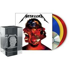 METALLICA HARDWIRED... TO SELF DESTRUCT 3 LP + LIMITED LASER CUT 3D CRYSTAL