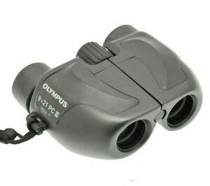 Olympus 9 x 21 PC III Field 7 Degree Binoculars with Strap ( UV Protection )