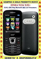 "ONDA N216 X2S+ DUAL SIM ,WAP,BLUETOOTH,MP3,DISPLAY 2,2"",ITALIA SILVER ---"