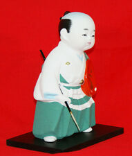 "Traditional Hakata doll ""Samurai of the Edo period called ""Kurodabushi"" #1643"