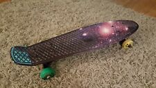 Skatro Mini Cruiser Penny Style Board PURPLE SKY Kryptonic Wheels