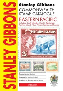 Eastern Pacific Stamp Catalogue by Stanley Gibbons 3rd Edition - 184 pages