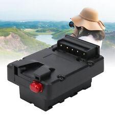 V‑Lock D‑tap Battery Adapter for Monitor Fill Light Equipment Using NP‑F Battery