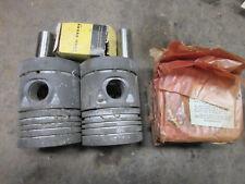 John Deere 530 Standard Sized Pistons Nos