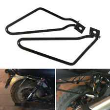 2PCS Universal Motorycle Bracket Rack Saddle Pannier Bag Spacer Support Bars Kit
