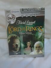 BRAND NEW Trivial Pursuit DVD Lord of the Rings Trilogy Edition