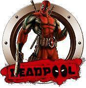 Deadpool with gun sticker decal