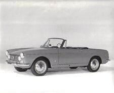 FIAT 1600 S Cabriolet intorno al 1963-65 ORIGINALE NERO & BIANCO FOTOGRAFIA