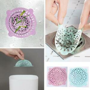 10X Disposable Floor Drain Filters Sink Strainer10cmBathroom Hair Catcher UsefuL