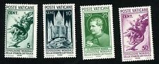 1936 Vatican City Stamps #47, 48, 49 & 50 All MINT VF, HR