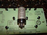E-Röhre HF 6SK7 Tube 17 mA Valve auf Funke W19 geprüft BL-2035