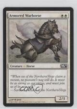 2011 Magic: The Gathering - Core Set: 2012 #7 Armored Warhorse Magic Card 0a1