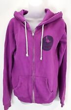 JACK WILLS Womens Hoodie Jacket 10 Purple