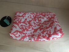 Modella Fashion Forever Coral Butterfly Makeup Bag