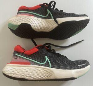 Nike ZoomX Invincible Run Flyknit Running Shoes Black/Red UK8.5 US9.5 EU43