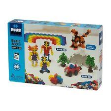 PLUS PLUS 300 Piece BASIC COLOR Set, Puzzle Piece-Shaped Building Toy