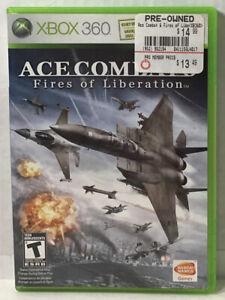 Ace Combat 6: Fires of Liberation - (Microsoft Xbox 360, 2007) Complete CIB