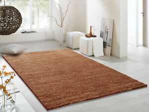 COSINESS LEAK moderner Designer Teppich in kupfer, viele Größen