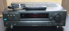 Technics SA-EX140 AM/FM Stereo Receiver Phono Input Class H Remote Bundle Clean