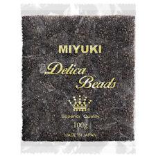 Wholesale Miyuki Delica Seed Beads Size 11/0 Gunmetal DB001 100g (P79/3)