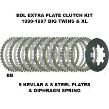 BDL Clutch Plate W/ Xtra Plates Harley-Davidson 1990-97 Big Twins & XL - BTXP-12
