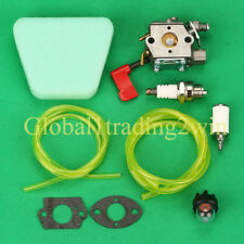 Carburetor For 530071637 Craftsman Poulan 32cc Gas Trimmer Pole Pruner Carb