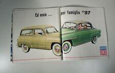 Simca '57 trionfo delle Aronde 1300. Scegliete la dei vostri sogni, 1955