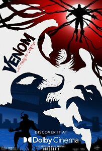 Venom: Let There Be Carnage (2021) Movie Art Poster HD Canvas Print Decor