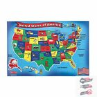 Educational Toys For 5 6 7 8 Year Olds USA Puzzle Learning Activity Kid Gift Set
