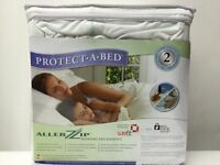 "Protect A Bed Allerzip Bedbug Case Zippered Hotel King- 72"" X 80"" -13"" Deep"